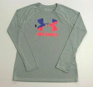 Girl's Youth Under Armour Long Sleeve Polyester Shirt Size XL $17.99
