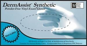INNOVATIVE DERMASSIST® VINYL SYNTHETIC POWDER FREE EXAM GLOVES SMALL