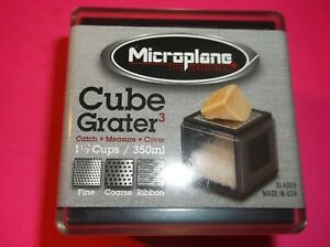 MICROPLANE CUBE GRATER 1 1/2 CUPS