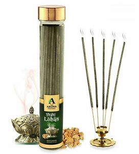 The Aroma Factory Shahi Loban Incense Sticks Agarbatti Bottle Pack Of 100