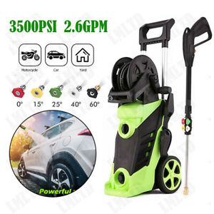 3000PSI 1.8GPM Electric Pressure Washer High Power Water Cleaner Cleaning Kits.