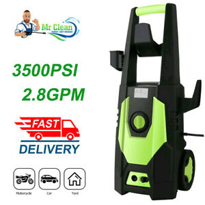 3500PSI 2.8GPM Electric Pressure Washer High Power Water Cleaner Cleaning Kits~