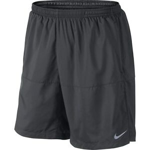 Men's Nike 7 Distance Shorts Sz S Anthracite 642807 060 FREE SHIPPING $36.99
