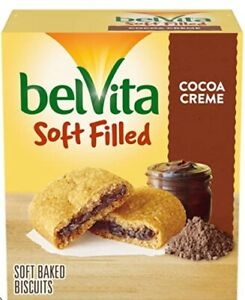 belVita Soft Filled Cocoa Creme Breakfast Bar Biscuit 3 Boxes Delicious