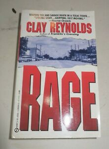 Rage by Clay Reynolds 1994, Paperback