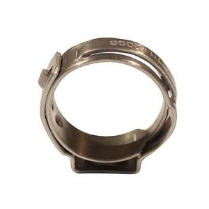 Apollo 1/2 in. Stainless Steel PEX Barb Pinch Clamp (10-Pack)