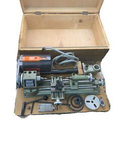 OUTSTANDING! American Edestaal Unimat SL1000 Lathe Mill w/ Box & Tools