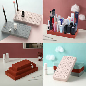 Silicone Lipgloss Holder Upgraded Makeup Organizer for Makeup Brushes Lipstick