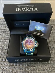 Invicta Star Wars Limited Edition R2D2 Iridescent Automatic Arsenal Watch 26557