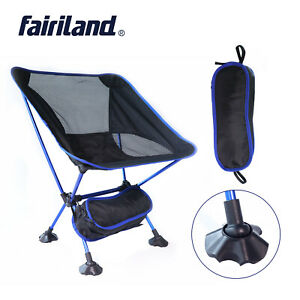Ultralight Portable Camping Folding Chair Outdoor BBQ Stool Beach Fishing Seats