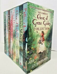 The Complete Anne Of Green Gables Collection Book Set, 8 Books L.M. Montgo