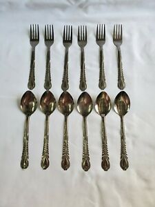 Set of 12 Metal Spoons and Forks NEW