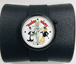 1991 LOONEY TUNES WATCH Bugs Bunny, Daffy Duck & Sylvester ARMITRON Quartz