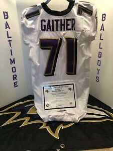 Baltimore Ravens Game Worn Jersey 2010 Season $420.00