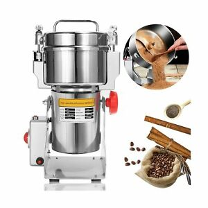 NEWTRY 700g Electric Grain Grinder Spice Mill 2400W Stainless Steel High-spee...