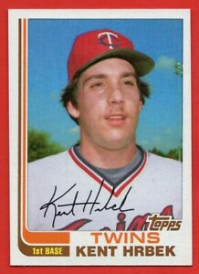 1982 Topps Traded #44T Kent Hrbek NEAR MINT Minnesota Twins ROOKIE RC FREE SHIP