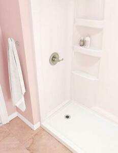 Delta Faucet ProCrylic 60 x 32 Left-Drain Shower Base High-Gloss White B78615-60  $779.12
