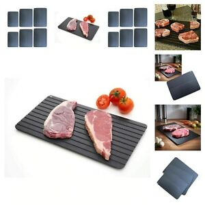 Thawing Tray Fast Rapid Defrosting Safe Meats Frozen Food Kitchen Accessories