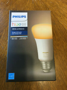 Philips Hue White Ambiance Single A19 LED Smart Bulb Brand New Factory Sealed