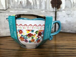 Pioneer Woman 4 piece Wildflower Whimsy Nesting Measuring Cups Bowls Set