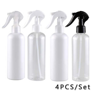 4xEmpty Spray Bottle Plastic Hair Salon Tool Flowers Plants Water Sprayer 300ml