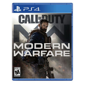 Call of Duty Modern Warfare PlayStation 4 PS4, 2019