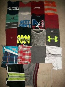 GUC LOT OF 19 BOYS SIZE 14 16 SPRING SUMMER NAME BRAND OLD NAVY UNDER ARMOU 5300 $109.99