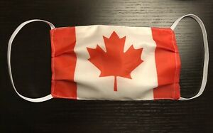 Canada Flag Face Mask Washable Canadian