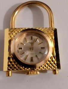 VINTAGE WATCH SALGAR 17JEWELS SHOCK PROTECTED MECHANICAL LOCK DESIGN SWISS MADE