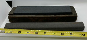"Vintage 8"" 10"" SHARPENING STONE FOR SHARPENING POCKET KNIVES SCISSORS  BLADE"