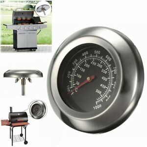 50 500 Degrees Celsius Roast BBQ Pit Smoker Grill Thermometer Temp Gauge
