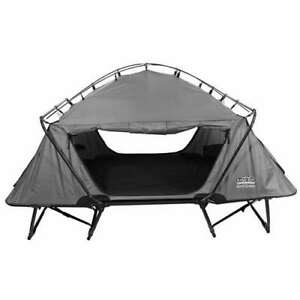 Kamp-Rite 2 Person Folding Off the Ground Bed Double Tent Cot Gray (For Parts)