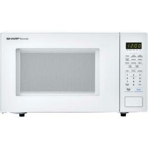 Sharp Carousel 1.1 Cu Ft 1000W Countertop Microwave Oven Certified Refurbished