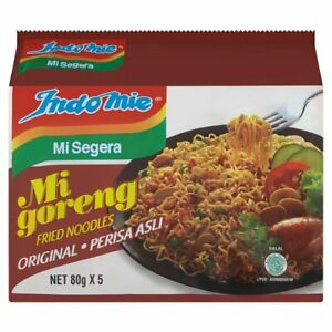 Indomie Mi Goreng Original Fried Noodles 5 x 80g Halal