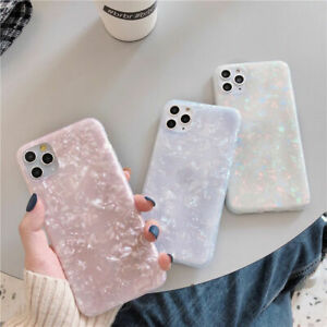For iPhone 11 Pro XS Max XR 8 7 Plus SE2020 Glitter Marble Shockproof Case Cover