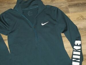 GIRLS MEDIUM NIKE 1 3 ZIP NIKE DRI SHIRT DRI FIT SHIRT $14.88