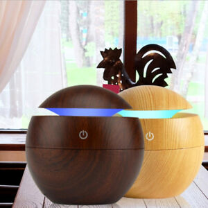 130ml LED Lights Ultrasonic Humidifier Aroma Essential Oil Diffuser Air Purifier