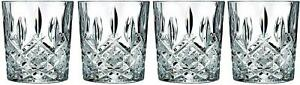 Double Old Fashioned Glasses Waterford Markham Scotch Whiskey Crystal Set New