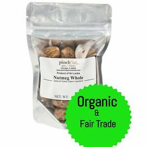 Organic Whole Nutmegs