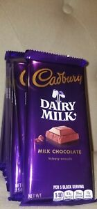Cadbury Dairy Milk ,Milk Chocolate , Velvety Smooth (99g) Candy Bar