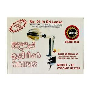 Odiris Coconut grater A8 Coconut scraper with stainless steel blades