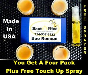 # 1 Swarm Pro Lure 💥5 Pack💥 Honey Bee Scent Bee Hive Bait Box Trap Beekeeper