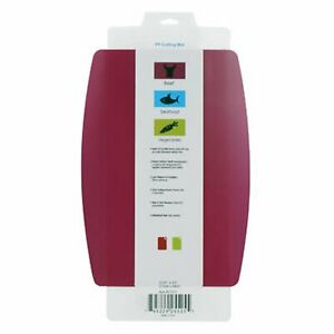 Universal Home Non-slip Flexible Cutting Mat Food Contact Dishwasher Safe - Pink