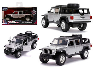 JADA 1 32 FAST & FURIOUS 9 2020 SILVER Jeep Gladiator DIECAST MODEL 32031