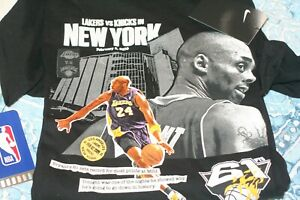 Nike Kobe Bryant 61 Point Dri Fit T Shirt Size Large LA Lakers & 81 point Shirt $240.00