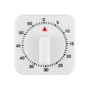 3Pcs 60Minutes Timer 1-Hour Long Kitchen Ring Bell Alarm Loud Cooking Mechanical