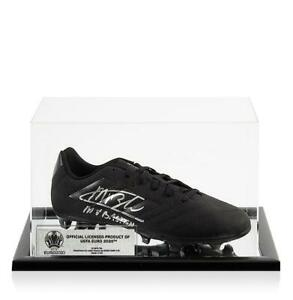 Marco van Basten Official UEFA EURO 2020 Signed Black Adidas Blackout Boot In Ac GBP 334.99
