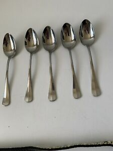 Oneida Savor stainless Soup Spoon Set of 5 Indonesia size 7 1/8