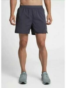 "Nike Flex Dri Fit Stride 5"" Lined Running Shorts Gray AT4000 015 Men's NWT $33.99"