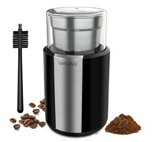 Electric Coffee Grinder, Stainless Steel Blades Coffee and Spice Grinder with...